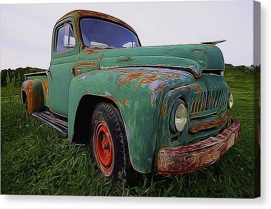 International Hauler Canvas Print