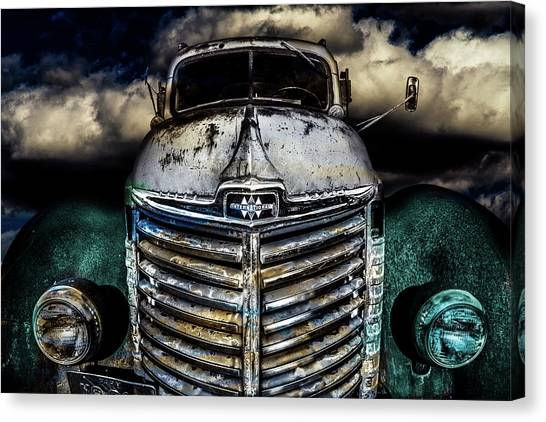 Canvas Print featuring the photograph International Truck 6 by Michael Arend