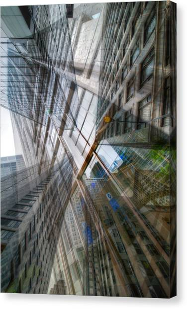 Intersection 10 Canvas Print by Kevin Eatinger