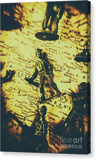 Iranian Canvas Print - Interventionism by Jorgo Photography - Wall Art Gallery