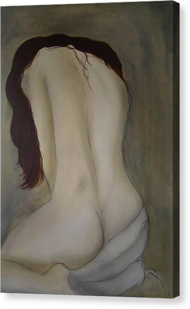 Intimacy Canvas Print by Bridgette  Allan