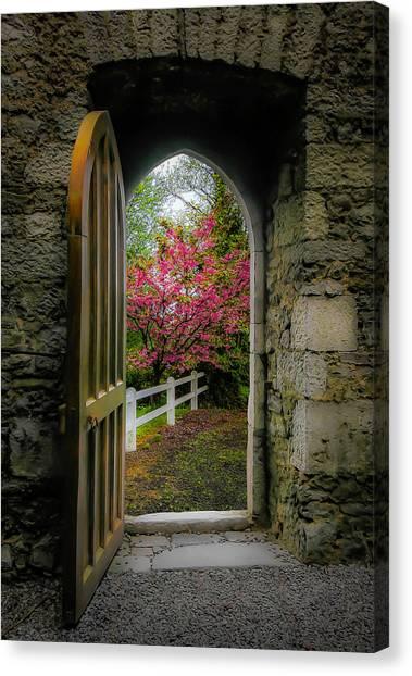 Canvas Print featuring the photograph Into Irish Spring by James Truett