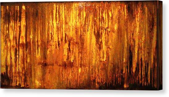 Into The Light Canvas Print by Hengameh Kaghazchi