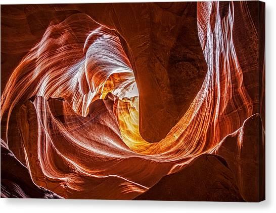 Into The Light Canvas Print