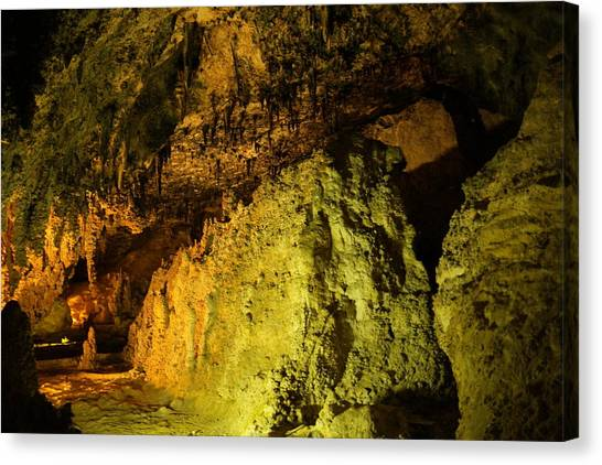 Carlsbad Caverns Canvas Print - Into The Underground  by Jeff Swan