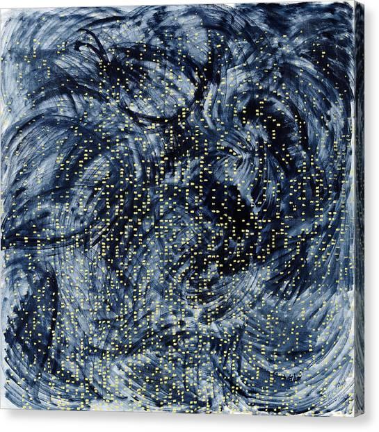 Into The Universe Canvas Print by Joan De Bot