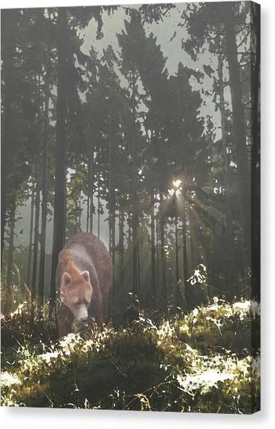 Canvas Print - Into The Wild by Bitten Kari