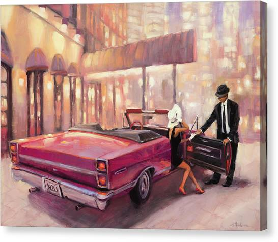 Night Canvas Print - Into You by Steve Henderson