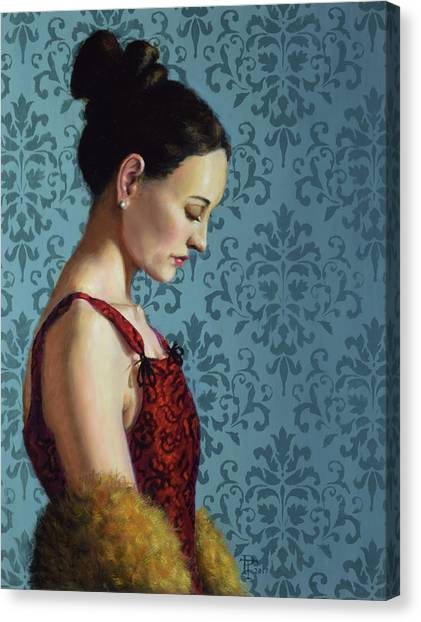 Introspection Canvas Print by Philip Taylor