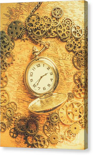 Machinery Canvas Print - Invention Of Time by Jorgo Photography - Wall Art Gallery