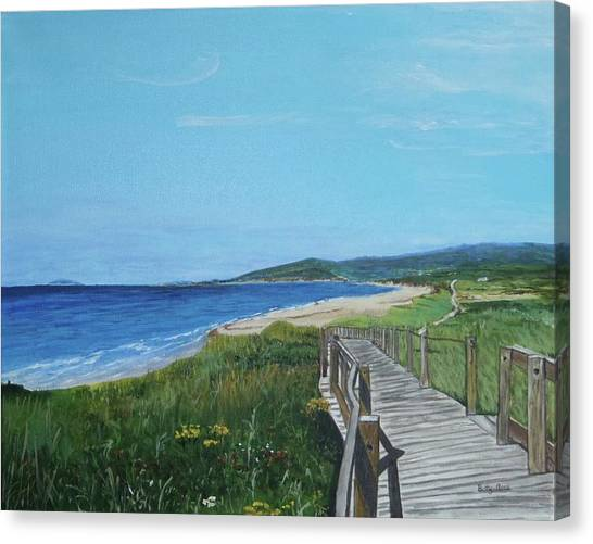 Inverness Beach Canvas Print