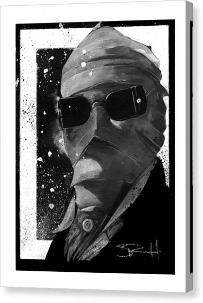 Invisible Man Canvas Print