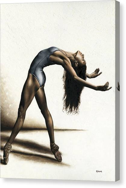 Ballet Canvas Print - Invitation To Dance by Richard Young