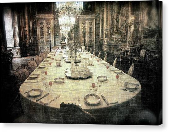 Invitation To Dinner At The Castle... Canvas Print