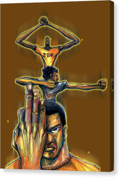 Iota Phi Theta Canvas Print - Iota Phi Theta by Tu-Kwon Thomas