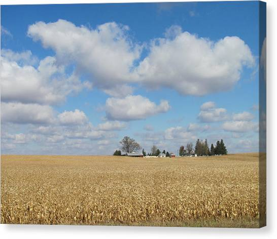 Iowa 3 Canvas Print