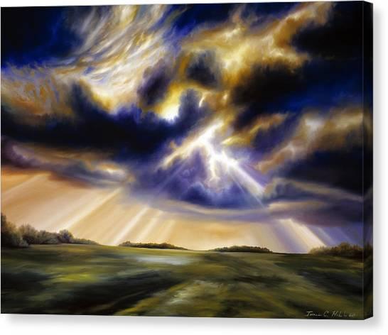 Iowa Storms Canvas Print