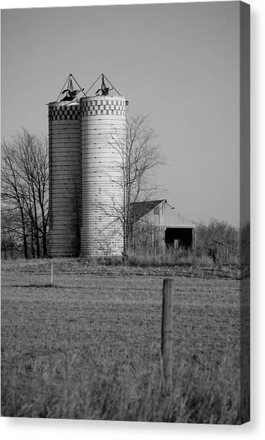 Iowa Towers 1 Canvas Print