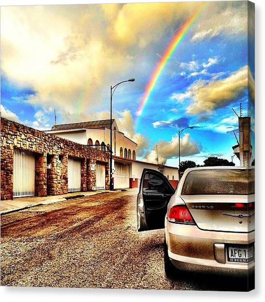 Canvas Print - #iphone # Rainbow by Estefania Leon