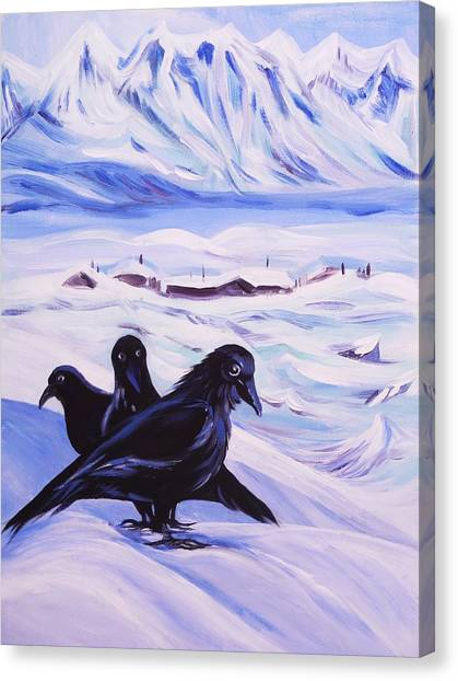 Iqaluit Canvas Print by Anna  Duyunova