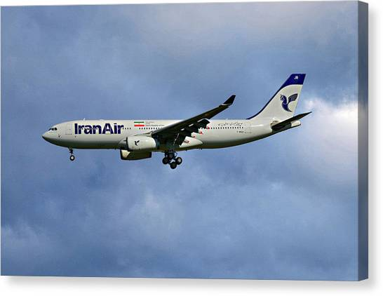 Iranian Canvas Print - Iran Air Airbus A330-243 117 by Smart Aviation