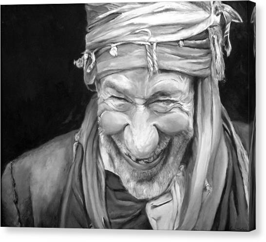Iranian Canvas Print - Iranian Man by Portraits By NC