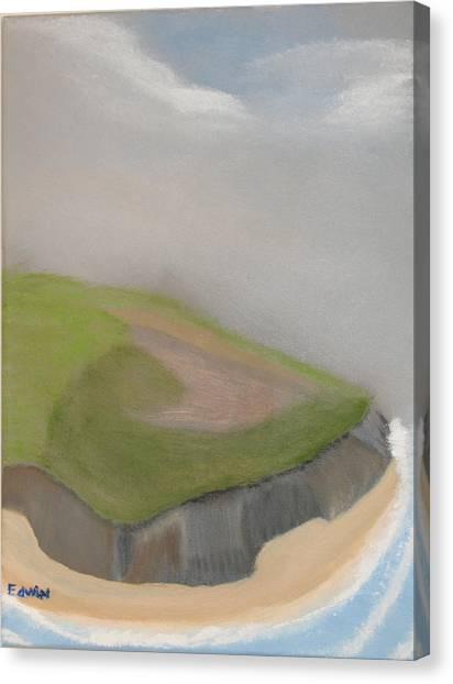 Ireland Cliffs Canvas Print by Edwin Long