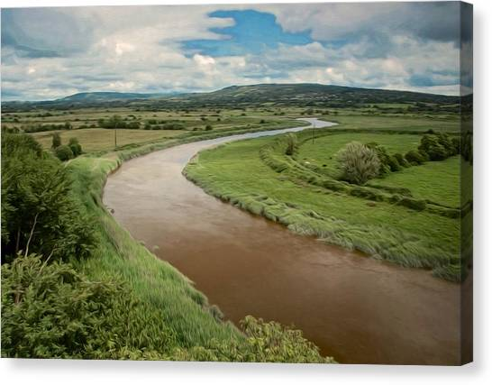 Ireland River Canvas Print