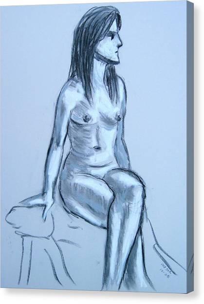 Irene Looking Left Canvas Print