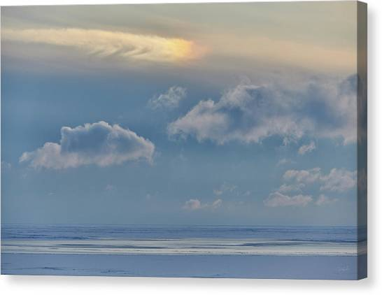 Iridescence Horizon Canvas Print