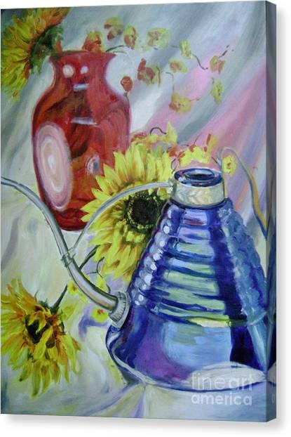 Iridescence Canvas Print by Lori McCray