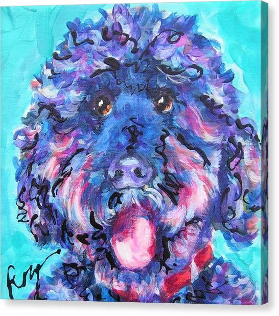 Irie Labradoodle Canvas Print