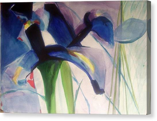 Iris  Power Canvas Print