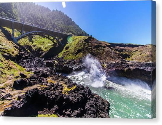 Irish Bridge Canvas Print