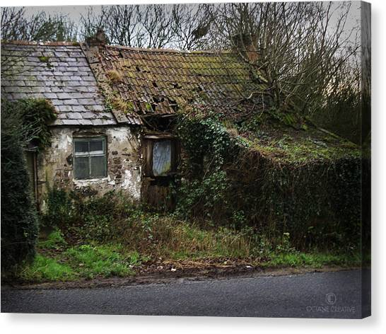 Irish Hovel Canvas Print