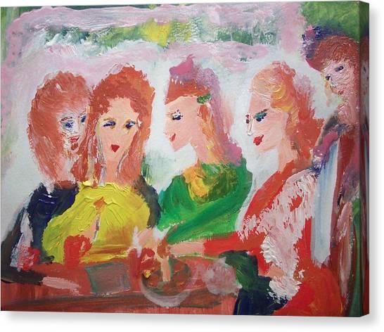 Irish Reunion Canvas Print