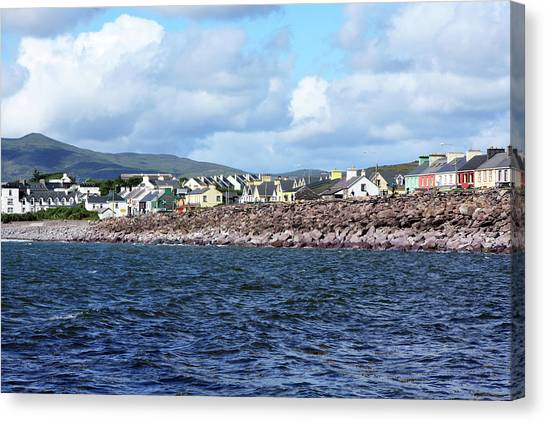 Irish Seaside Village - Co Kerry  Canvas Print