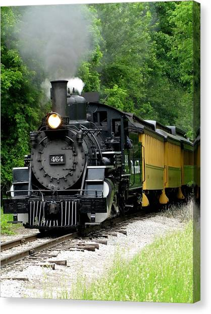 Iron Horse Canvas Print