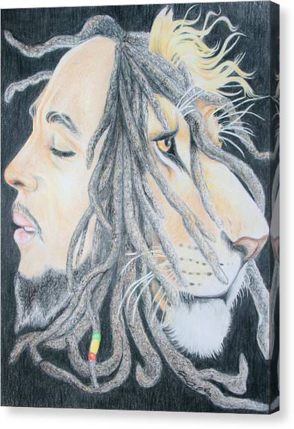 Iron Lion Zion Canvas Print