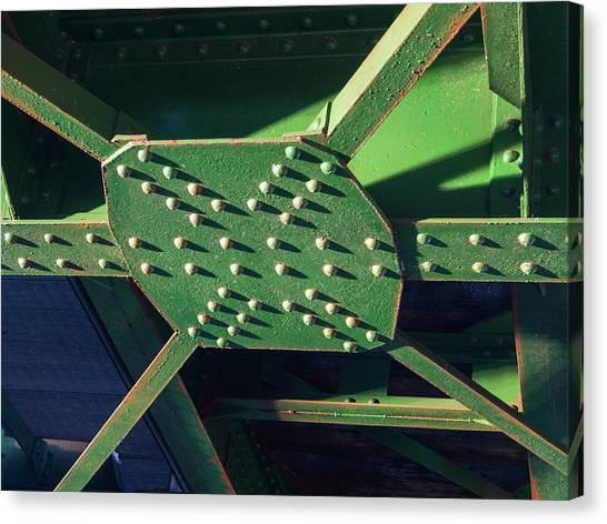 Iron Rail Bridge Canvas Print