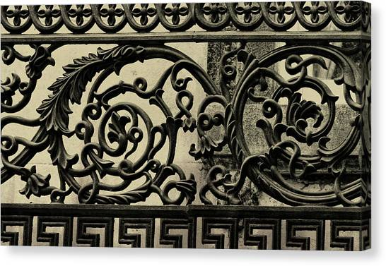 Iron Work Canvas Print by JAMART Photography