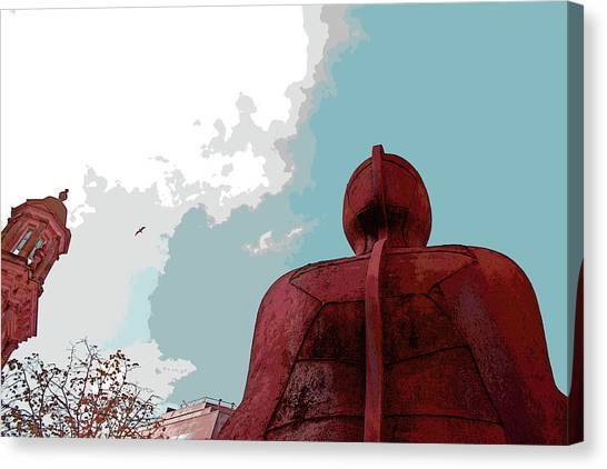 Ironman Canvas Print