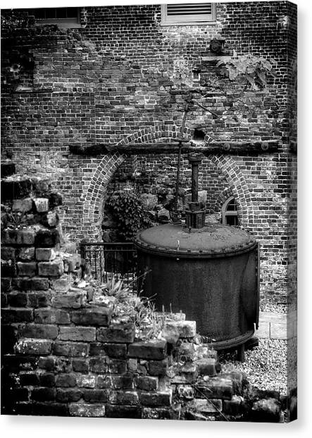 Ironworks Remains Canvas Print