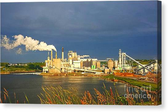 Irving Mill Canvas Print