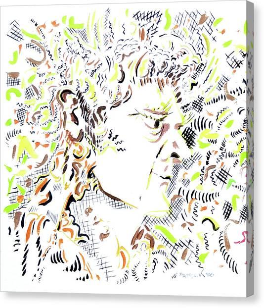 Canvas Print - Isaac Newton by Dave Martsolf