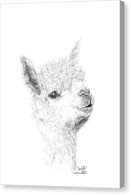 Canvas Print - Isabella by K Llamas