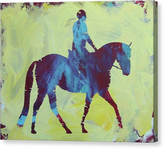 Canvas Print featuring the painting Isabella by Candace Shrope