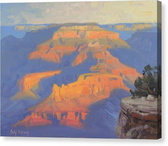 Canyon Canvas Print - Isis In The Morning by Cody DeLong