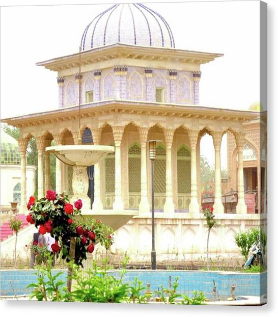 Islamic Art Canvas Print - #islamicarchitecture #islamic by Aya Mikado