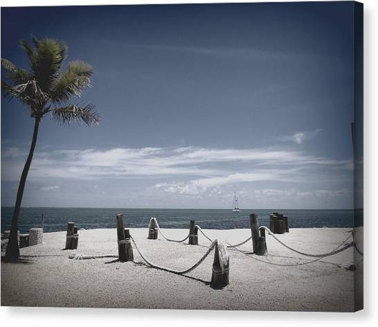 Islamorada Scenery Canvas Print by Tammy Chesney
